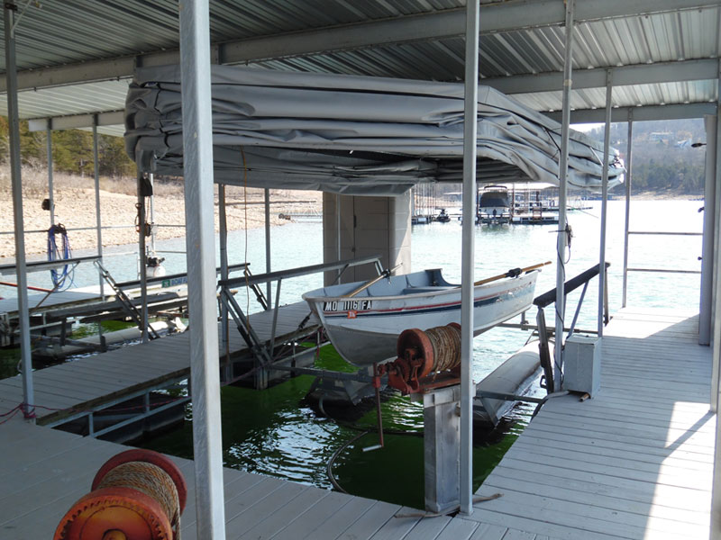 Automated boat covers Tanneycomo